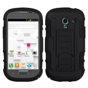 Insten® Car Armor Stand Protector Cases For Samsung T599 Galaxy Exhibit