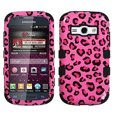 Insten® Hybrid Phone Protector Cover For Samsung M840/Galaxy Prevail 2, Pink Leopard/Black