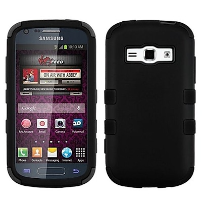 Insten® Hybrid Phone Protector Cover F/Samsung M840/Galaxy Ring/Galaxy Prevail 2, Black/Black
