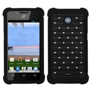 Insten® Phone Protector Case For Huawei H881C/Y301, Black/Black