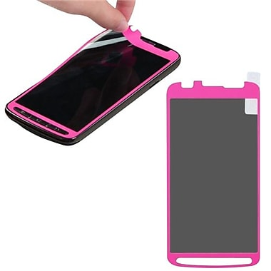 Insten® Coating Screen Protector For Samsung i537 Galaxy S4 Active, Pink