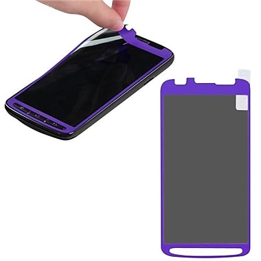 Insten® Coating Screen Protector For Samsung i537 Galaxy S4 Active, Purple