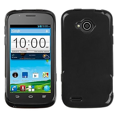 Insten® Candy Skin Cover For ZTE N810 Reef, Semi Transparent Smoke