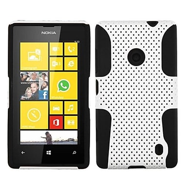 Insten Astronoot Phone Protector Case For Nokia Lumia 520, White/Black (1522793)