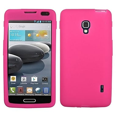 Insten® Solid Skin Cover For LG MS500/D500, Pink