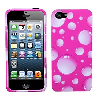 Insten® Phone Protector Cover F/iPhone 5/5S, Pink Bigger Bubbles