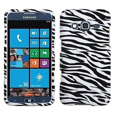 Insten® Phone Protector Case For Samsung I8675 ATIV S Neo, Zebra Skin