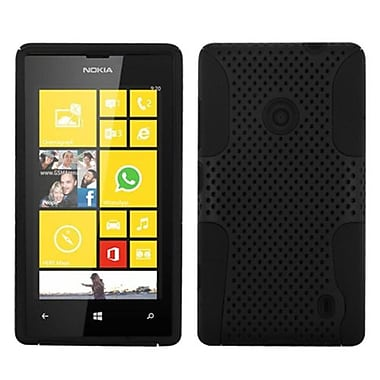 Insten Astronoot Phone Protector Case For Nokia Lumia 520, Black/Black (1591738)