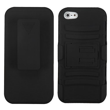 Insten® Protector Covers W/Advanced Armor Stand F/iPhone 5/5S
