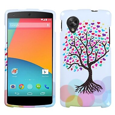 Insten® Protector Case For LG D820 Nexus 5, Love Tree