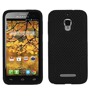 Insten Astronoot Phone Protector Case For Alcatel 7024W, Black/Black (1680095)