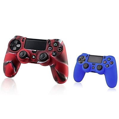 Insten® 1683599 2-Piece Game Case Bundle For Sony PlayStation 4 Controller