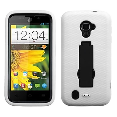 Insten® Symbiosis Stand Protector Case For ZTE Z796C, Black/White