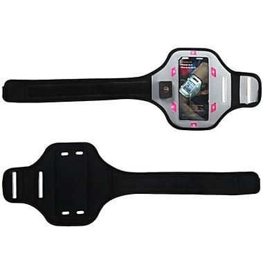 Insten® Vertical Pouch Universal Advanced Sport Armband W/Hot-Pink Flashing Lights F/ZTE Z665C Valet