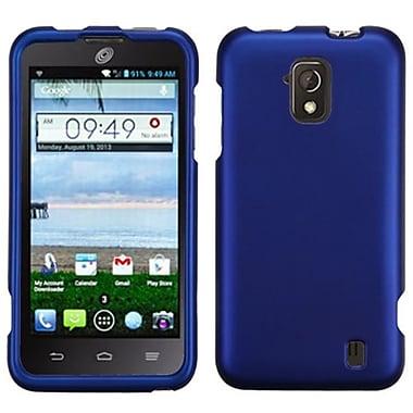 Insten® Protector Case For ZTE Z795G Solar, Titanium Solid Dark Blue