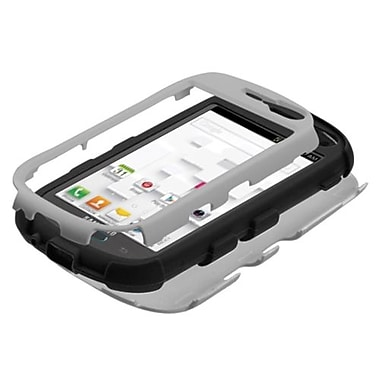 Insten® TUFF Hybrid Phone Protector Case For Samsung T599 Galaxy Exhibit, Gray/Black