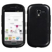Insten® Hybrid Protector Case For Samsung T599 Galaxy Exhibit, Carbon Fiber/Black