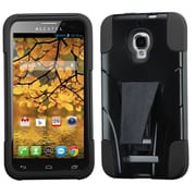 Insten® Inverse Advanced Armor Stand Protector Case For Alcatel 7024W, Black