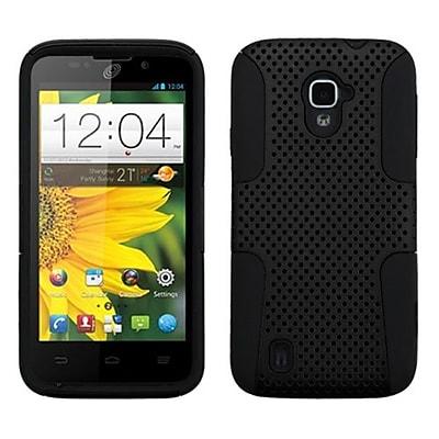 Insten® Protector Case For ZTE Z796C Majesty/N9511 Source, Black/Black Astronoot