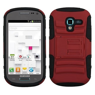 Insten® Advanced Armor Stand Protector Case For Samsung T599 Galaxy Exhibit, Red/Black