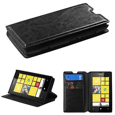 Insten ? Étui folio MyJacket avec plateau pour Lumia 520 de Nokia, noir (1838095)