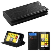 Insten® MyJacket Wallet With Tray For Nokia Lumia 520, Black
