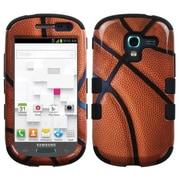 Insten® Hybrid Protector Case For Samsung T599 Galaxy Exhibit, Basketball Black