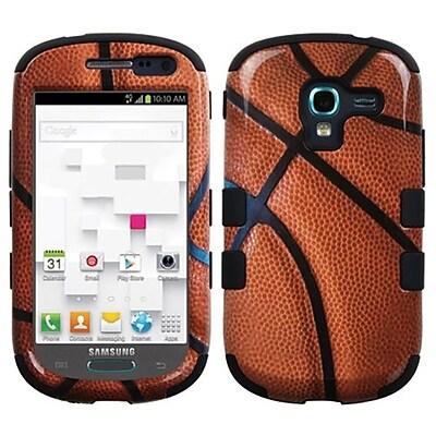 Insten® Hybrid Protector Case For Samsung T599 Galaxy Exhibit; Basketball Black