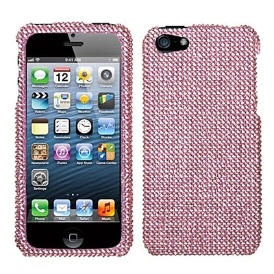Insten® Diamante Protector Cover F/iPhone 5/5S; Pink