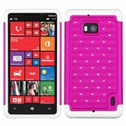 Insten® Luxurious Lattice Dazzling Protector Covers For Nokia Lumia Icon 929