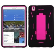 "Insten® Symbiosis Stand Protector Cover For 8.4"" Samsung Galaxy Tab Pro, Hot-Pink/Black"
