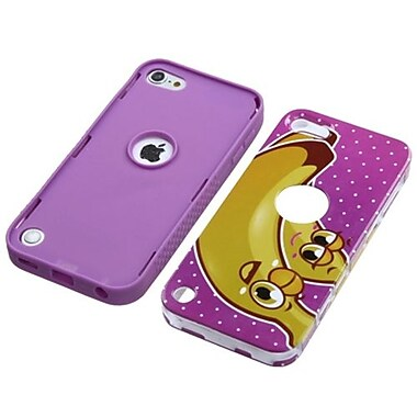 Insten® VERGE Hybrid Protector Covers For iPod Touch 5th Gen