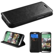 Insten® MyJacket Wallets For HTC-One M8