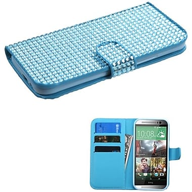 Insten® Book-Style MyJacket Wallets For HTC-One M8