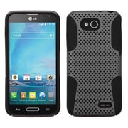 Insten® Protector Cover For LG D415 Optimus L90, Grey/Black Astronoot