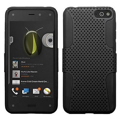 Insten® Protector Cover For Amazon Fire, Black/Black Astronoot