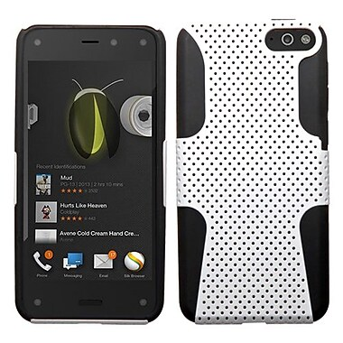 Insten Protector Cover For Amazon Fire, White/Black Astronoot (1906737)