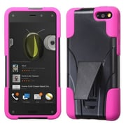 Insten® Inverse Advanced Armor Stand Protector Cover For Amazon Fire, Hot-Pink