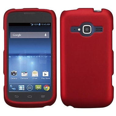 Insten Protector Cover For ZTE Z730 Concord II, Titanium Solid Red (1909544)