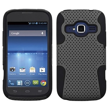 Insten® Protector Cover For ZTE Z730 Concord II, Gray/Black Astronoot