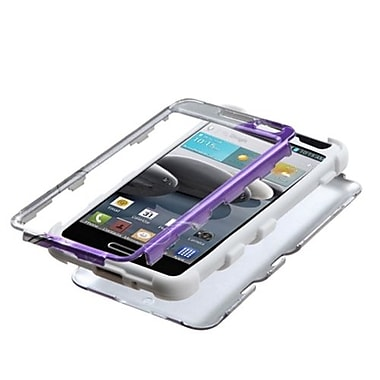 Insten® TUFF Hybrid Phone Protector Covers For LG D500 Optimus F6/MS500
