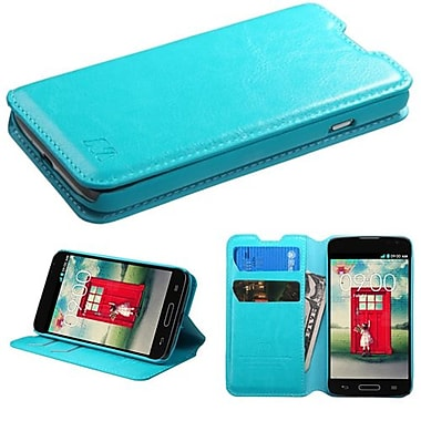 Insten® MyJacket Wallets For LG MS323/VS450PP