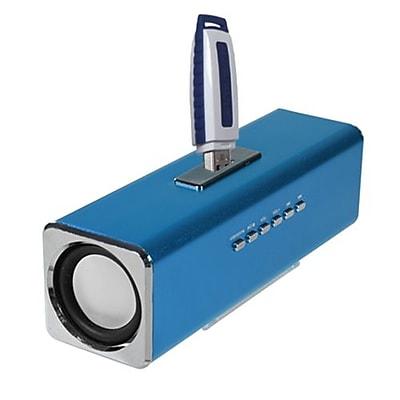 Insten® 6W Mobile Speaker With FM Radio, Blue