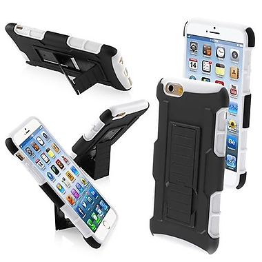 Insten Rubberized Protector Cover With Car Armor Stand For 4.7