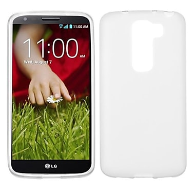 Insten Candy Skin Cover For LG G2 Mini, Semi Transparent White (1920205)