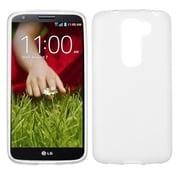 Insten® Candy Skin Cover For LG G2 Mini, Semi Transparent White