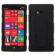 Insten® Rubberized Car Armor Stand Protector Cases For Nokia Lumia Icon 929