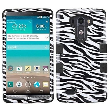 Insten® TUFF Hybrid Phone Protector Cover For LG G3, Black Zebra