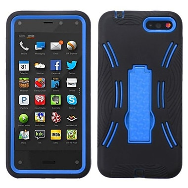 Insten Symbiosis Stand Protector Case For Amazon Fire, Dark Blue/Black (1928487)