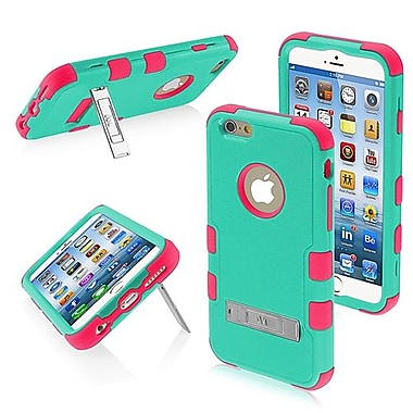 Insten® TUFF Hybrid Phone Protector Cover W/Stand F/4.7